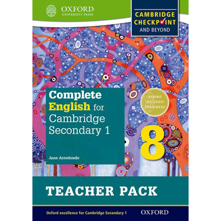 Complete English for Cambridge Lower Secondary Teacher Pack 8: Cambridge Checkpoint and beyond (ISBN: 9780198364726)