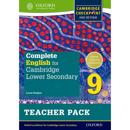Complete English for Cambridge Lower Secondary Teacher Pack 9: Cambridge Checkpoint and beyond (ISBN: 9780198364733)