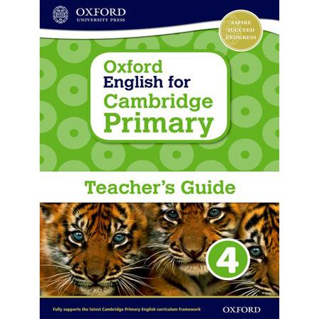 Oxford English for Cambridge Primary Teacher Book 4 (ISBN: 9780198366393)