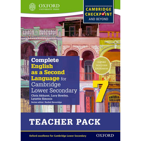 Complete English as a Second Language for Cambridge Lower Secondary Teacher Pack 7 (ISBN: 9780198378181)