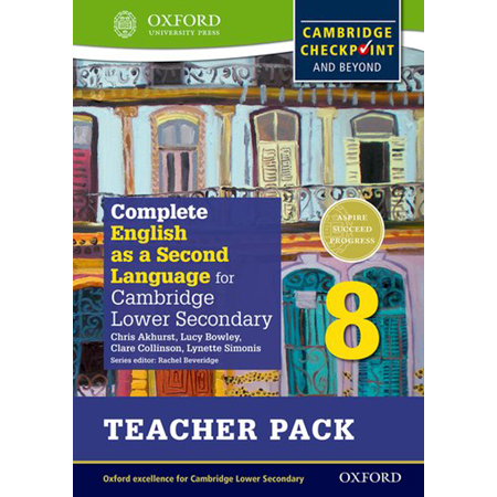 Complete English as a Second Language for Cambridge Lower Secondary Teacher Pack 8 (ISBN: 9780198378198)