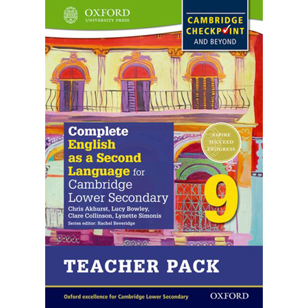Complete English as a Second Language for Cambridge Lower Secondary Teacher Pack 9 (ISBN: 9780198378204)