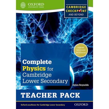 Complete Physics for Cambridge Lower Secondary Teacher Pack: Cambridge Checkpoint and beyond (ISBN: 9780198390268)