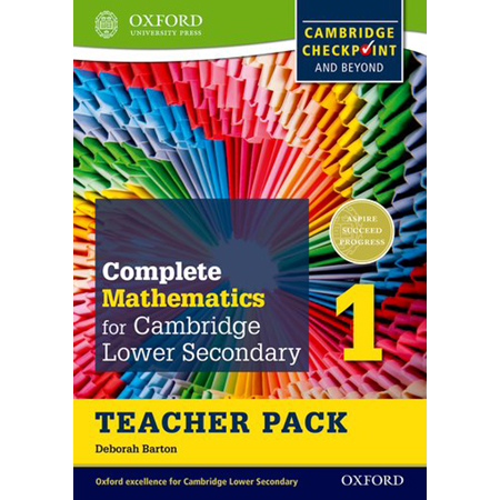 Complete Mathematics for Cambridge Lower Secondary Teacher Pack 1: Cambridge Checkpoint and Beyond (ISBN: 9780199137053)