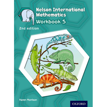 Nelson International Mathematics Workbook 5 (ISBN: 9781408518991)