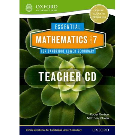 Essential Mathematics for Cambridge Lower Secondary Stage 7 Teacher CD-ROM (ISBN: 9781408519820)