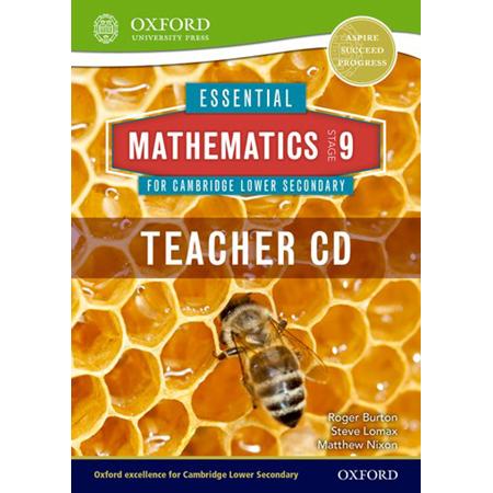 Essential Mathematics for Cambridge Lower Secondary Stage 9 Teacher CD-ROM (ISBN: 9781408519882)