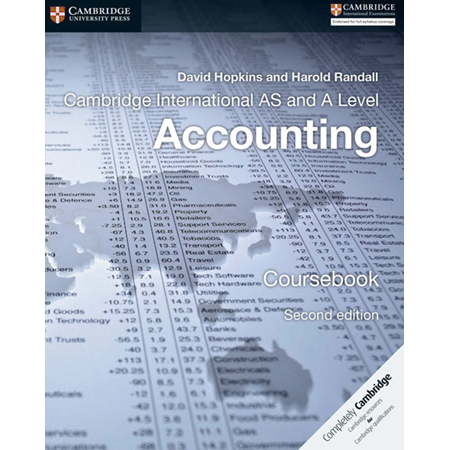 Cambridge International AS and A Level Accounting Coursebook (Second Edition) (ISBN: 9781316611227)