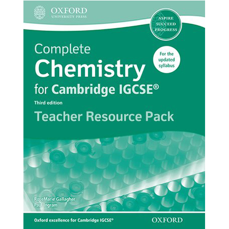 Complete Chemistry for Cambridge IGCSE Teacher Resource Pack (ISBN: 9780198308768)