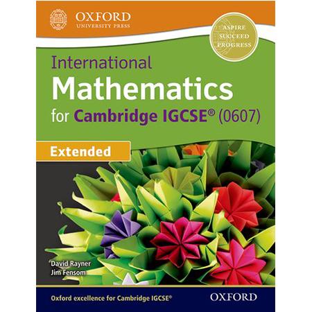International Maths for Cambridge IGCSE Extended (ISBN: 9780198416906)