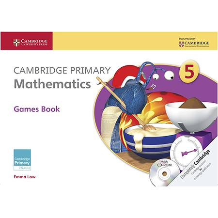 Cambridge Primary Mathematics Stage 5 Games book with CD-ROM (ISBN: 9781107614741)