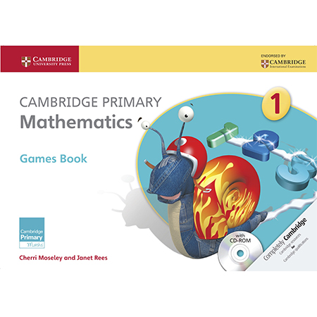 Cambridge Primary Mathematics Stage 1 Games Book with CD-ROM (ISBN: 9781107646407)