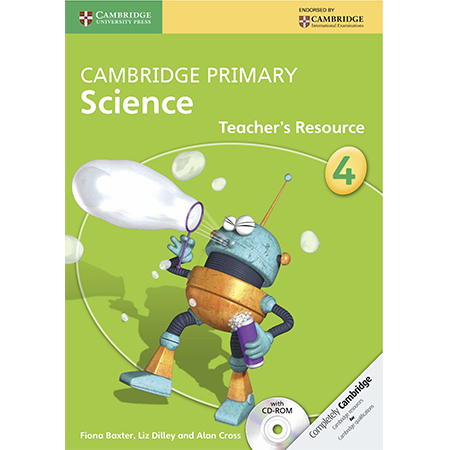 Cambridge Primary Science Stage 4 Teacher\'s Resource Book with CD-ROM (ISBN: 9781107661516)
