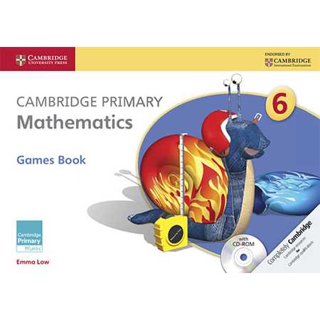 Cambridge Primary Mathematics Stage 6 Games Book with CD-ROM (ISBN: 9781107667815)