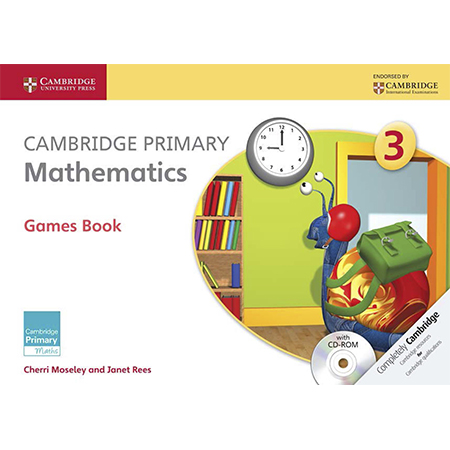 Cambridge Primary Mathematics Stage 3 Games Book with CD-ROM (ISBN: 9781107694019)