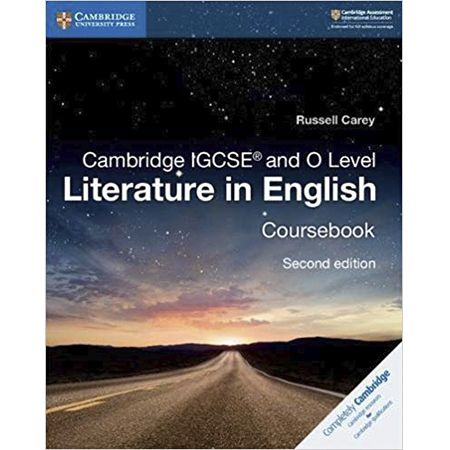 Cambridge IGCSE and O Level Literature in English Coursebook (ISBN: 9781108439916)