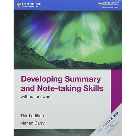 Developing Summary and Note-taking Skills without Answers (ISBN: 9781108440691)