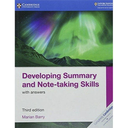 Developing Summary and Note-taking Skills with Answers (ISBN: 9781108440790)
