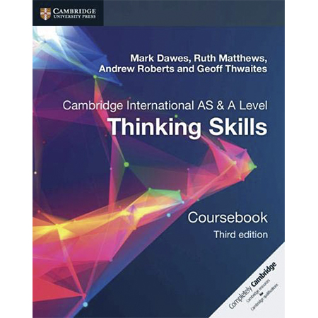 Cambridge International AS & A Level Thinking Skills Coursebook (ISBN: 9781108441049)