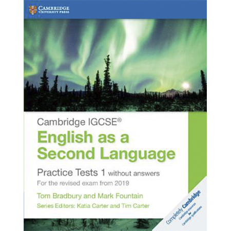 Cambridge IGCSE English as a Second Language Practice Tests 1 without Answers (ISBN: 9781108546119)