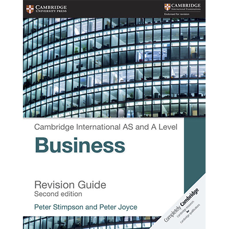 Cambridge International AS and A Level Business Revision Guide (ISBN: 9781316611708)