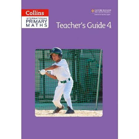Collins International Primary Maths - Teacher\'s Guide 4 (ISBN: 9780008159931)