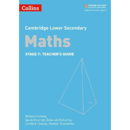 Collins Cambridge Lower Secondary Maths Teacher\'s Guide: Stage 7 (ISBN: 9780008213510)
