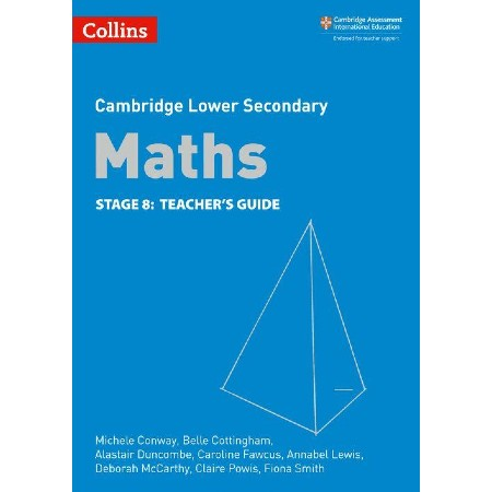 Collins Cambridge Lower Secondary Maths Teacher\'s Guide: Stage 8 (ISBN: 9780008213541)