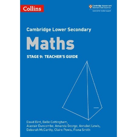 Collins Cambridge Lower Secondary Maths Teacher\'s Guide: Stage 9 (ISBN: 9780008213572)