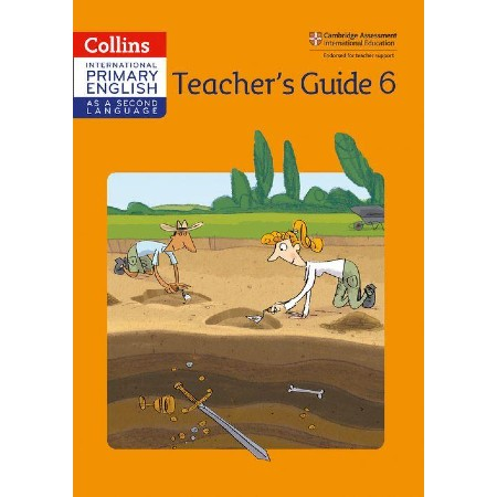 Collins Cambridge International Primary English as a Second Language Teacher Guide 6 (ISBN: 9780008213756)