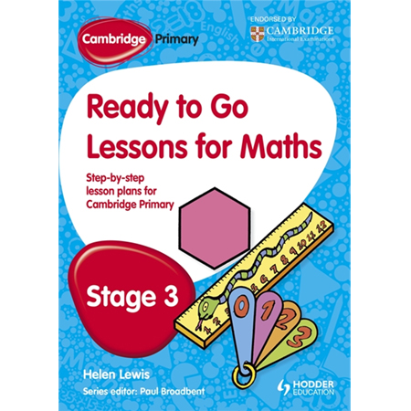 Cambridge Primary Ready to Go Lessons for Mathematics Stage 3 (ISBN: 9781444177589)