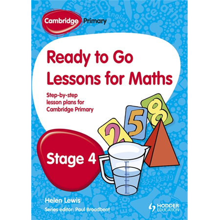 Cambridge Primary Ready to Go Lessons for Mathematics Stage 4 (ISBN: 9781444177619)