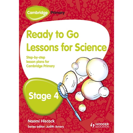Cambridge Primary Ready to Go Lessons for Science Stage 4 (ISBN: 9781444177855)