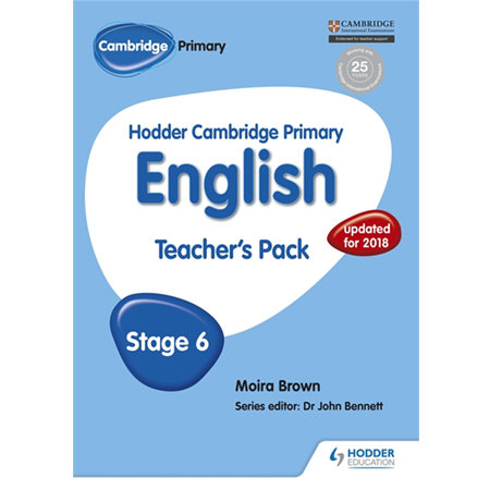 Hodder Cambridge Primary English: Teacher\'s Pack Stage 6 (ISBN: 9781471830228)