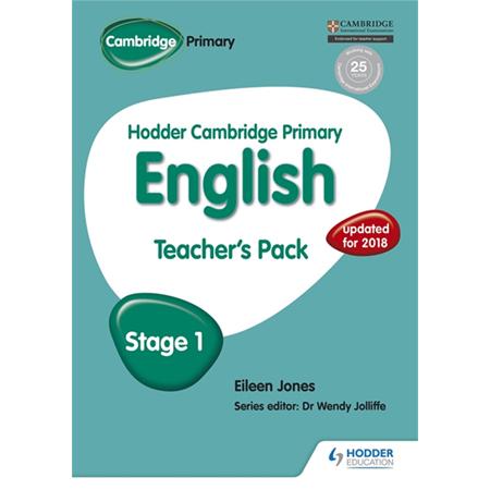 Hodder Cambridge Primary English: Teacher\'s Pack Stage 1 (ISBN: 9781471831010)
