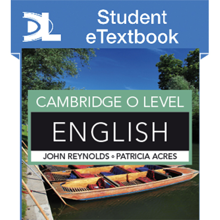 Cambridge O Level English Student eTextbook (ISBN: 9781471868665)