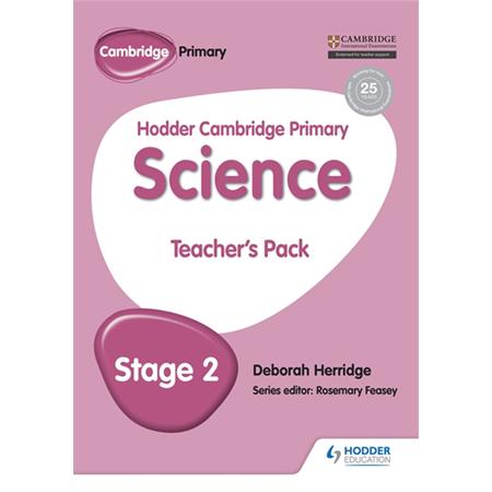 Hodder Cambridge Primary Science Teacher\'s Pack 2 (ISBN: 9781471883866)