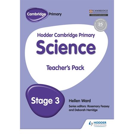 Hodder Cambridge Primary Science Teacher\'s Pack 3 (ISBN: 9781471884115)