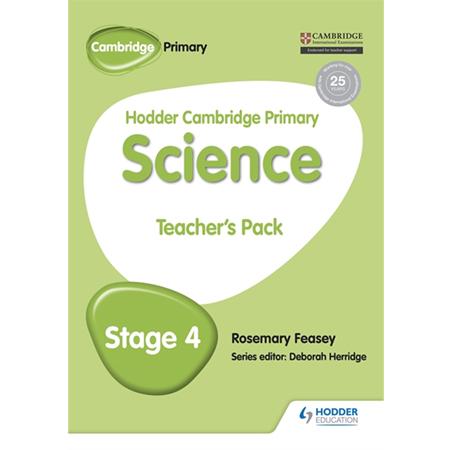 Hodder Cambridge Primary Science Teacher\'s Pack 4 (ISBN: 9781471884139)