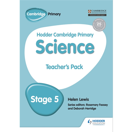 Hodder Cambridge Primary Science Teacher\'s Pack 5 (ISBN: 9781471884153)