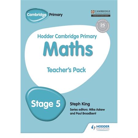 Hodder Cambridge Primary Maths Teacher\'s Pack 5 (ISBN: 9781471884528)