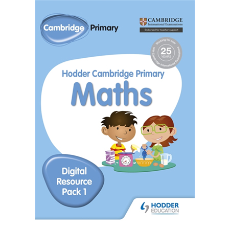 Hodder Cambridge Primary Maths CD-ROM Digital Resource Pack 1 (ISBN: 9781471884696)