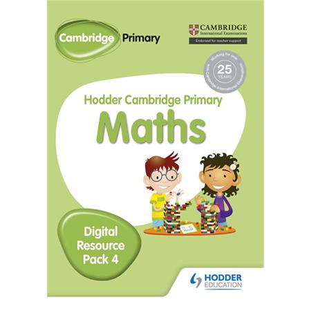 Hodder Cambridge Primary Maths CD-ROM Digital Resource Pack 4 (ISBN: 9781471884726)