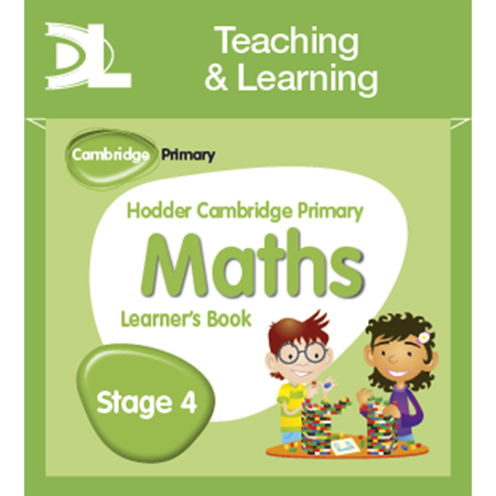 Hodder Cambridge Primary Maths Online Digital Resource Pack 4 (ISBN: 9781510426009)