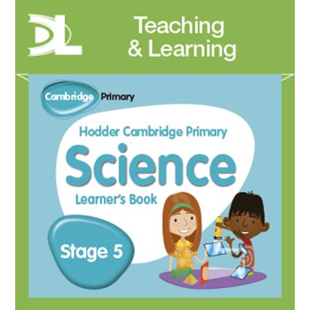 Hodder Cambridge Primary Science Online Digital Resource Pack 5 (ISBN: 9781510426139)