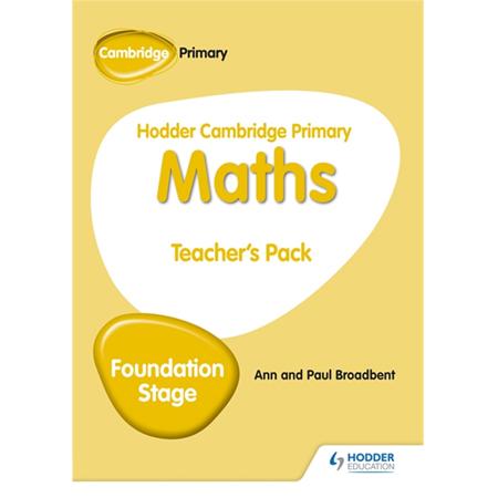 Hodder Cambridge Primary Maths Teacher\'s Pack Foundation Stage (ISBN: 9781510431867)