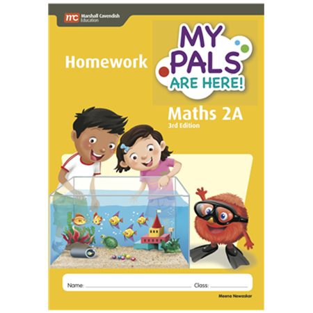 My Pals Are Here! Maths (3rd Edition) Homework 2A (ISBN: 9789810197124)