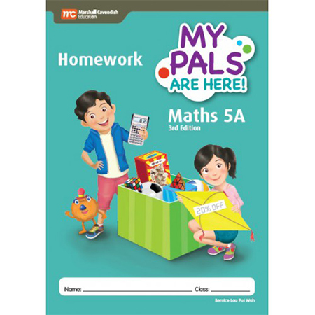 My Pals are Here! Maths (3rd Edition) Homework 5A (ISBN: 9789813160026)