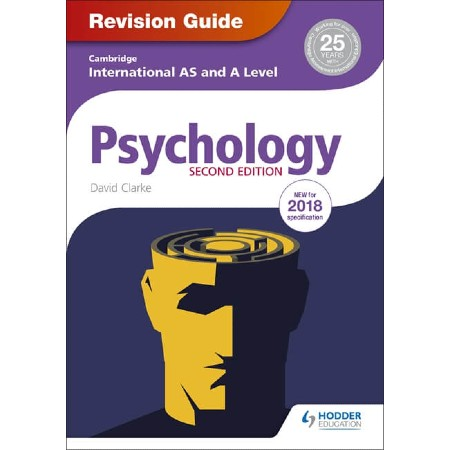 Cambridge International AS/A Level Psychology Revision Guide 2nd edition (ISBN: 9781510418394)