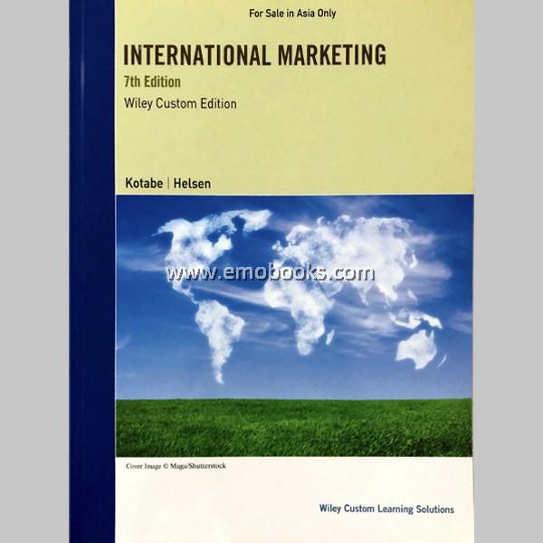 International Marketing, 7th Edition (ISBN: 9781119923435)